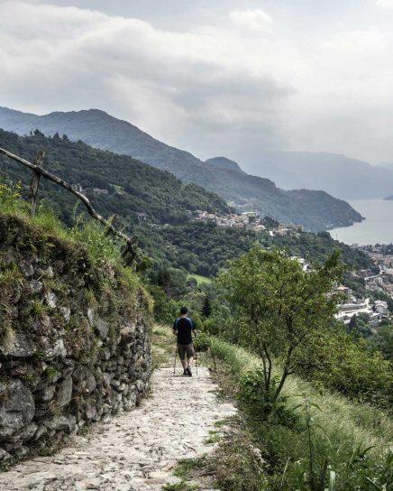sentiero del viandante varenna
